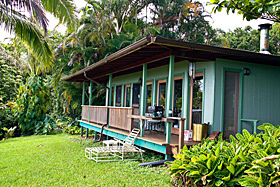 Entabeni Cottage Vacation Rental of Nahiku, Maui, Hawaii